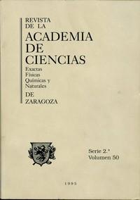 Revista de la Real Academia de Ciencias de Zaragoza, TOMO 50 (1995)