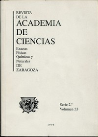 Revista de la Real Academia de Ciencias de Zaragoza, TOMO 53 (1998)