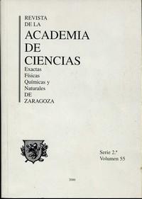 Revista de la Real Academia de Ciencias de Zaragoza, TOMO 55 (2000)