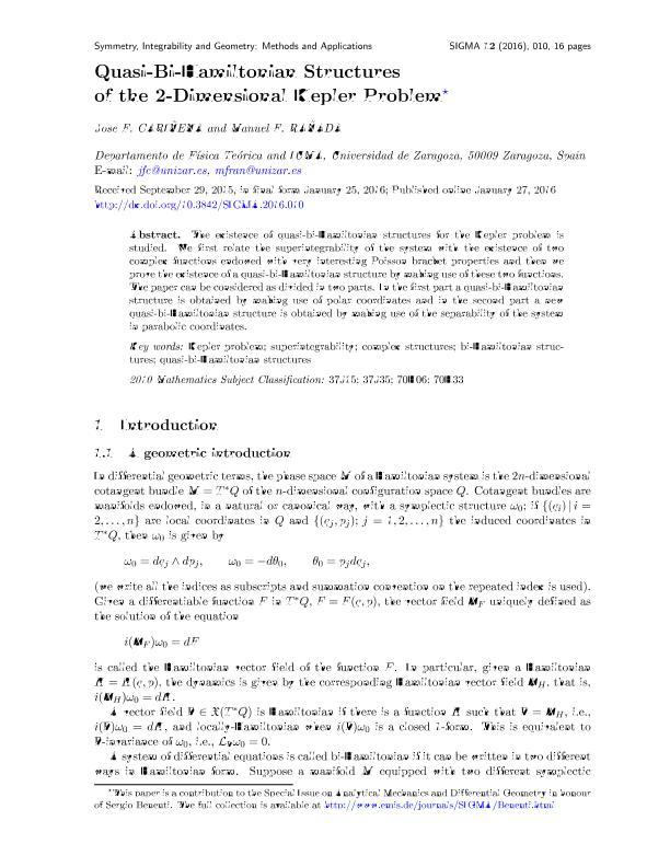 Quasi-Bi-Hamiltonian structures of the 2-dimensional Kepler problem