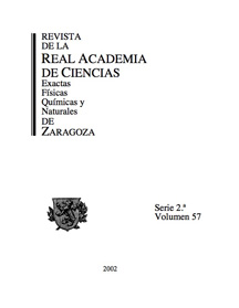 Revista de la Real Academia de Ciencias de Zaragoza, TOMO 62 (2007)