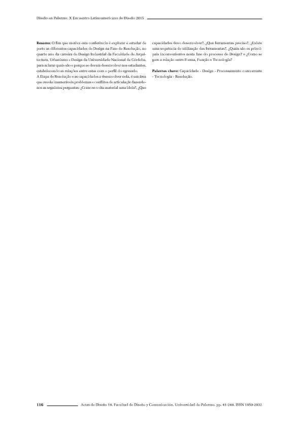 Análisis integrado de especificaciones y factores en la realización de proyectos de diseño