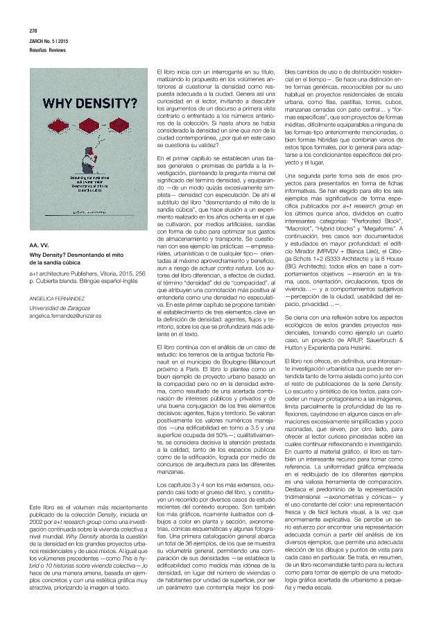 Why Density? Desmontando el mito de la sandía cúbica [Reseña]