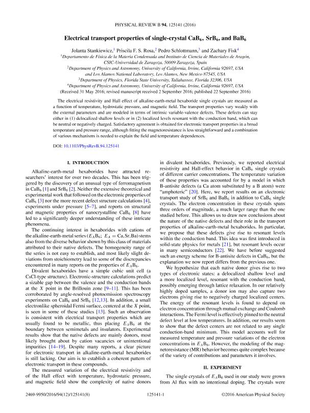 Electrical transport properties of single-crystal CaB 6, SrB 6, and BaB 6
