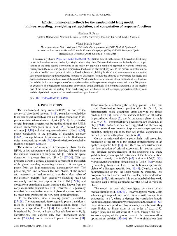 Efficient numerical methods for the random-field Ising model: Finite-size scaling, reweighting extrapolation, and computation of response functions