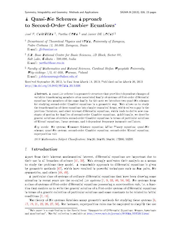 A quasi-Lie schemes approach to second-order Gambier equations