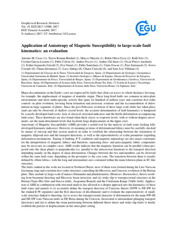 Application of Anisotropy of Magnetic Susceptibility to large-scale fault kinematics: an evaluation