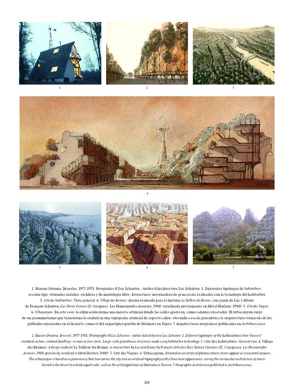 Luc Schuiten: soñando la utopía verde = Luc Schuiten: dreams of a green utopia