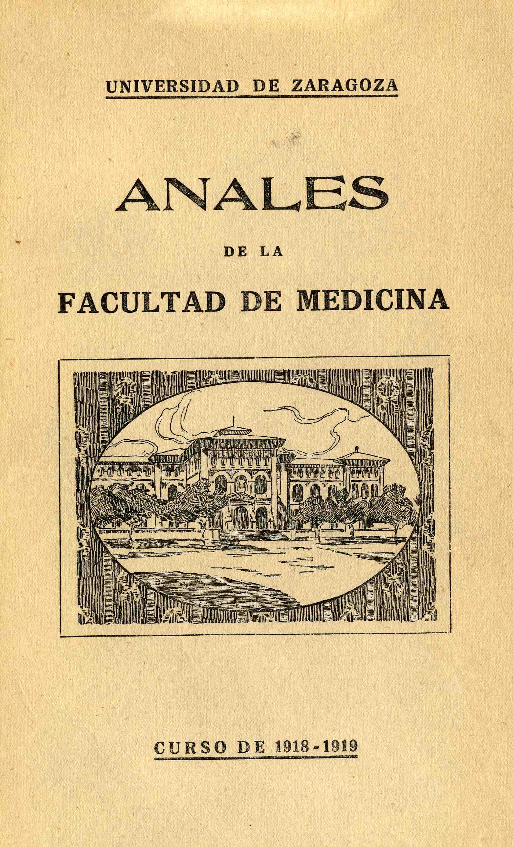 Anales de la Facultad de Medicina, fasc. 2,  (1918-19)
