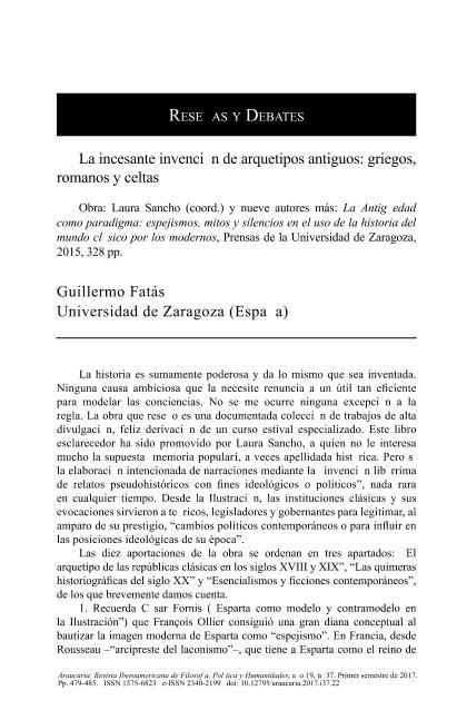 La incesante invención de arquetipos antiguos: griegos, romanos y celtas