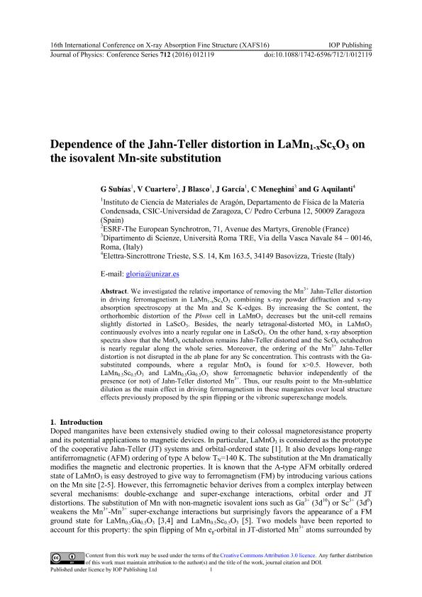 Dependence of the Jahn-Teller distortion in LaMn1-xScxO3 on the isovalent Mn-site substitution