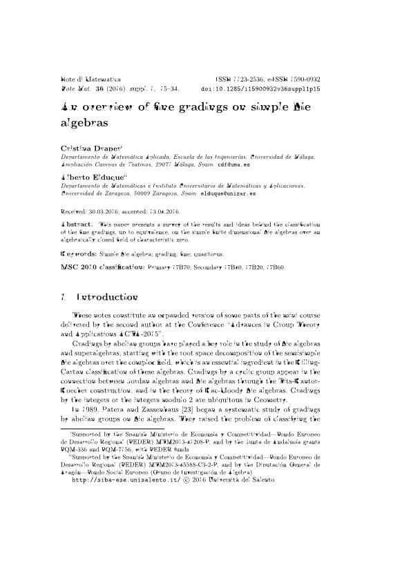An overview of fine gradings on simple Lie algebras