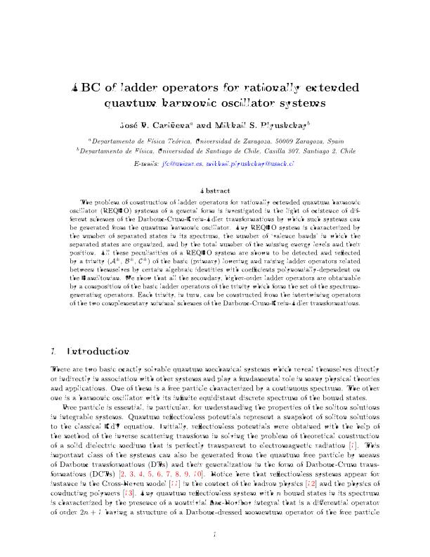 ABC of ladder operators for rationally extended quantum harmonic oscillator systems