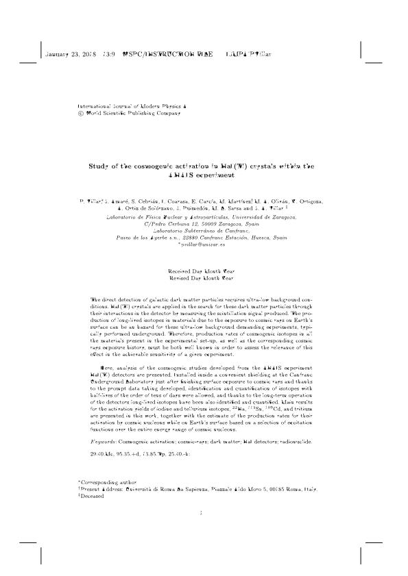 Study of the cosmogenic activation in NaI(Tl) crystals within the ANAIS experiment