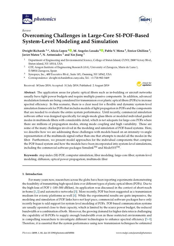 Overcoming challenges in large-core SI-POF-based system-level modeling and simulation