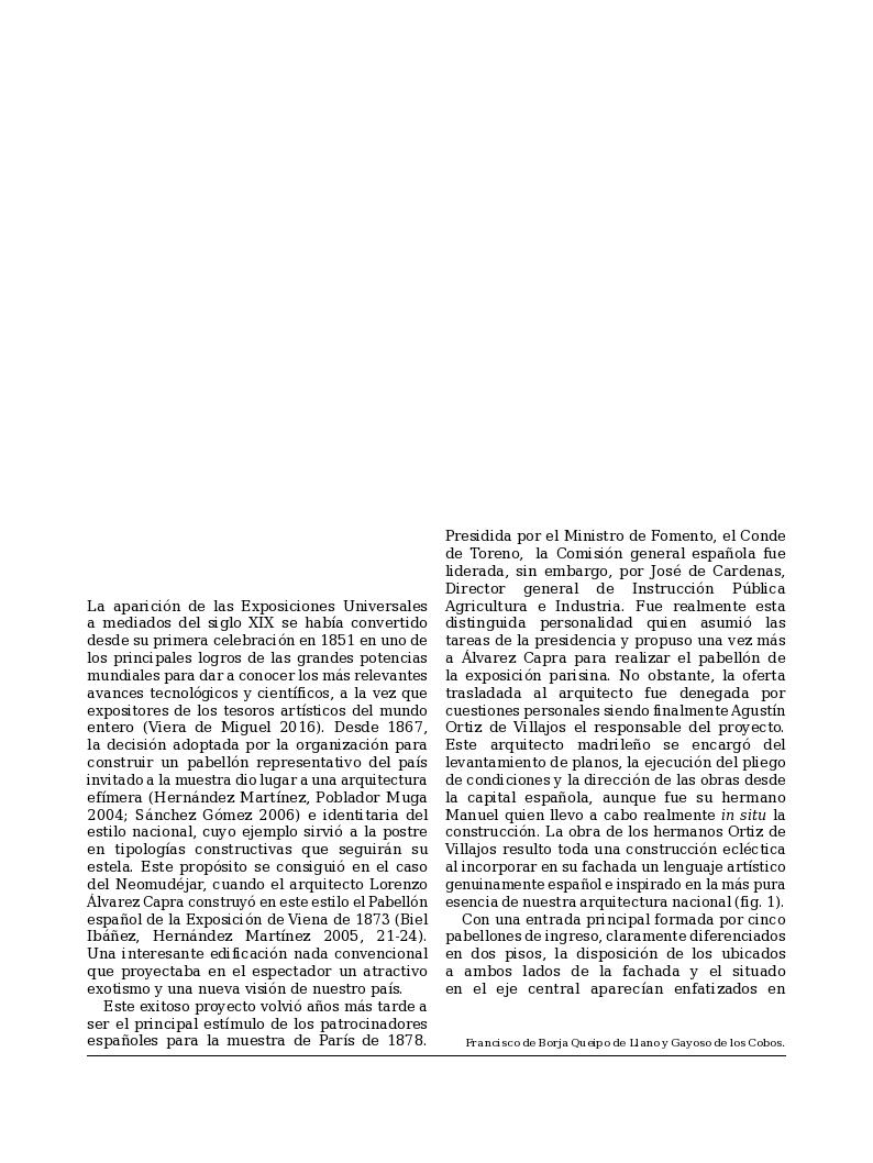 Zaragoza en la Exposición de París de 1878 a partir de fuentes de archivo y fotografía
