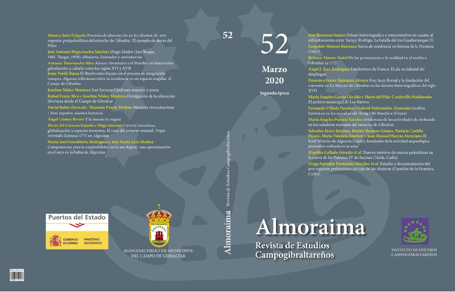 Estudio y documentación del arte rupestre prehistórico del tajo de las Abejeras (Castellar de la Frontera, Cádiz)
