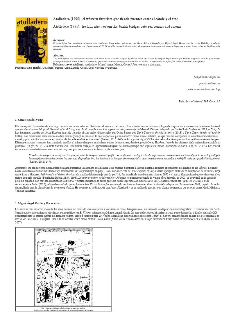 Atolladero (1995): el wéstern futurista que tiende puentes entre el cómic y el cine